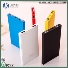 2016 hot selling shenzhen power banks portable battery charger, power bank 4000 mah power bank external battery