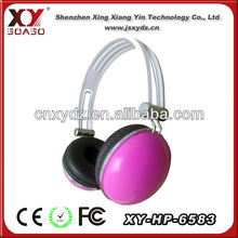2013 best wired headset with super bass custom logo free samples