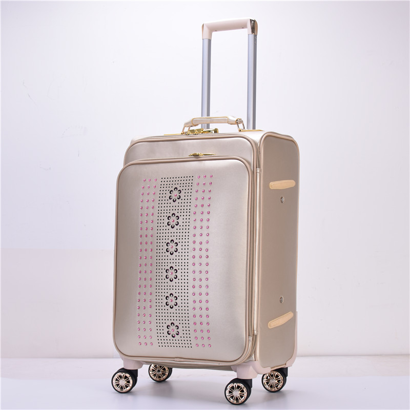 3 pcs or 4pcs long distance spinner wheel aluminum luggage set travel storage bagasi wheeled cabin briefcase bag