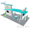 Detian Offer 20x30ft trade show display booth design ideas