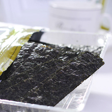 Organic nori kelp roasted seaweed sheets for sushi food