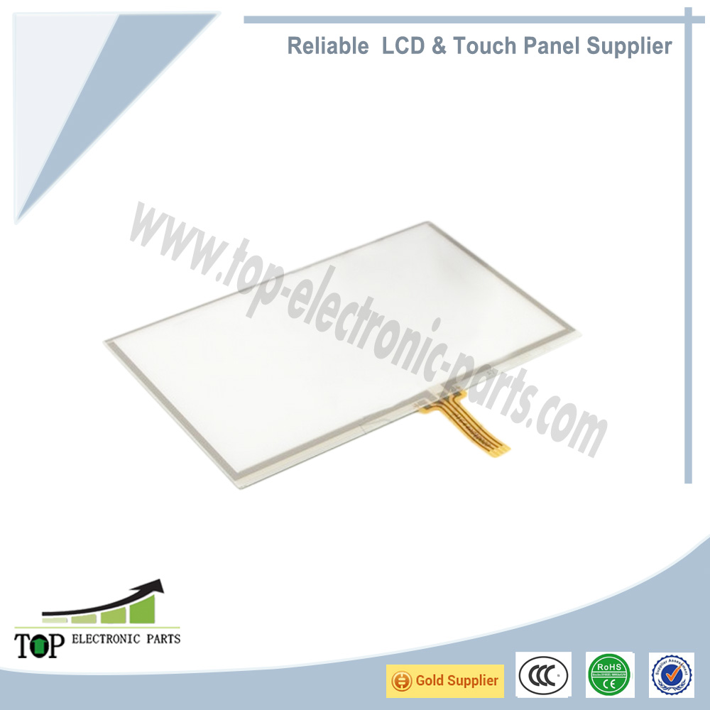 "4.3"" 4Wire Resistive Touch Screen Panel 4 INNOLUX AT043TN24 LCD Digitizer 105*65"