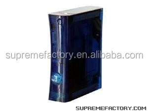 For Xbox 360 Ocean Blue XCM Custom Full Housing Shell Case Replacement with Installation Tool