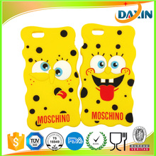 Dongguan Cartoon Silicone cell phone case manufacturers, Custom Cute 3d Silicone Phone case