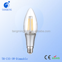 lamp holder e14 for chandeliers 2000-6500K filament dimmable filament led bulb dimmable C35/C35T 4w/6w