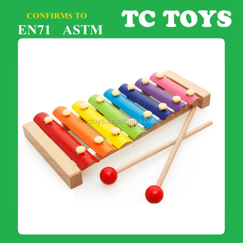 Popular musical instrument wooden toy for kids