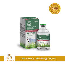 GMP Factory Oxytetracycline HCL Injection 20% for cattle/fowl/pig/pets