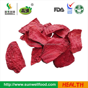 Vacuum fried Beetroot Chips