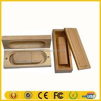 OEM oniversal remote control wooden box usb flash drive