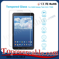 Premium 9H Hardness Tablet Pc Tempered Glass Screen Protectors For Samsung Galaxy Tab 4 8.0 T330