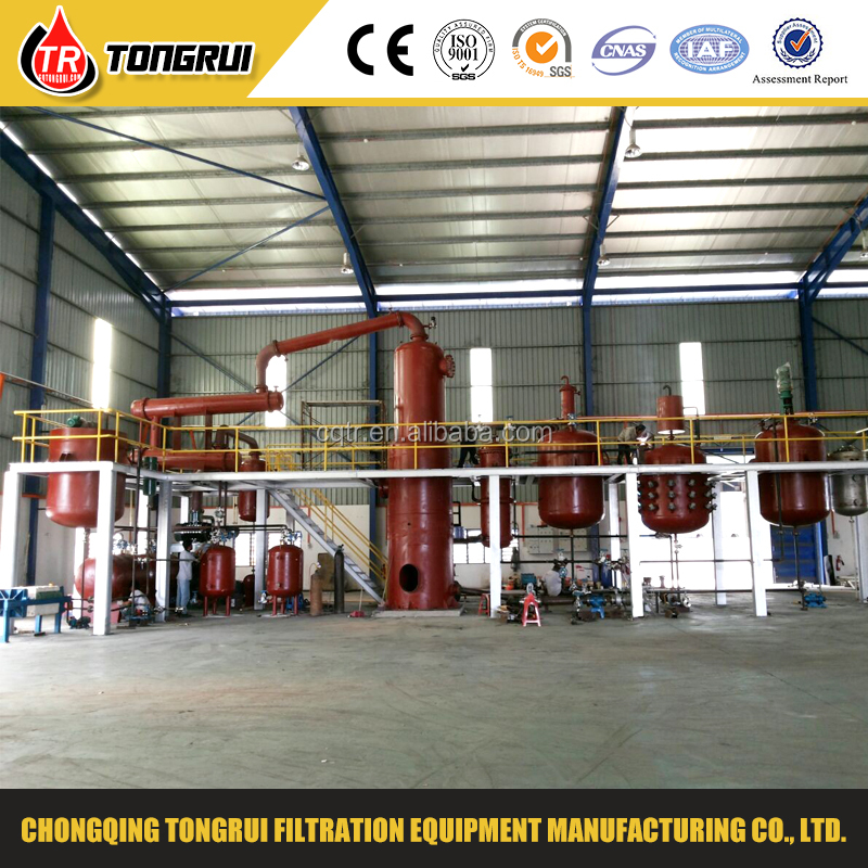 2016 Newest Waste Engine oil /Crude Tire Oil Distillation Equipment