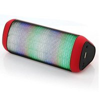 Colorful Portable Bluetooth wireless led flashing lights speaker