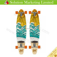2015 New Design Best Selling bamboo longboard skateboards Professional Leading Manufacturer