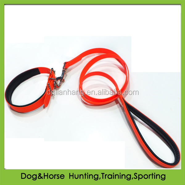 soft EVA material padded PVC pet dog collars for greyhounds dogs