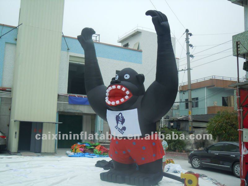 inflatable kingkong ,inflatable giant monkey