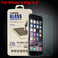 Wholesale Protective film for iphone 6 plus screen protector glass