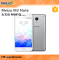 "Original Meizu M3 Note 3/32GB M681Q 5.0"" MTK6755 Octa Core 4G Mobile phone Note M3 Meizu"