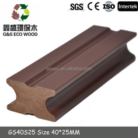 Manufactory Price!!!High quality wood plastic/new design WPC decking/decking joist
