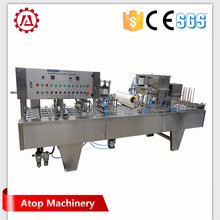 Good performance best price plastic cup yoghurt milk cup filling sealing machine