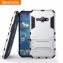 wholesale Anti drop tpu pc kickstand phone case cover for samsung galaxy j1 ace made in China