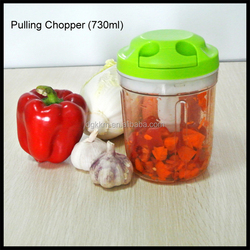 2016 large Capacity 730ml vegetable and fruit Chopper Mixing Machine,pulling chopper