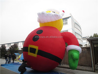 2015 hot sale high quality inflatable Christmas santa claus/inflatable product