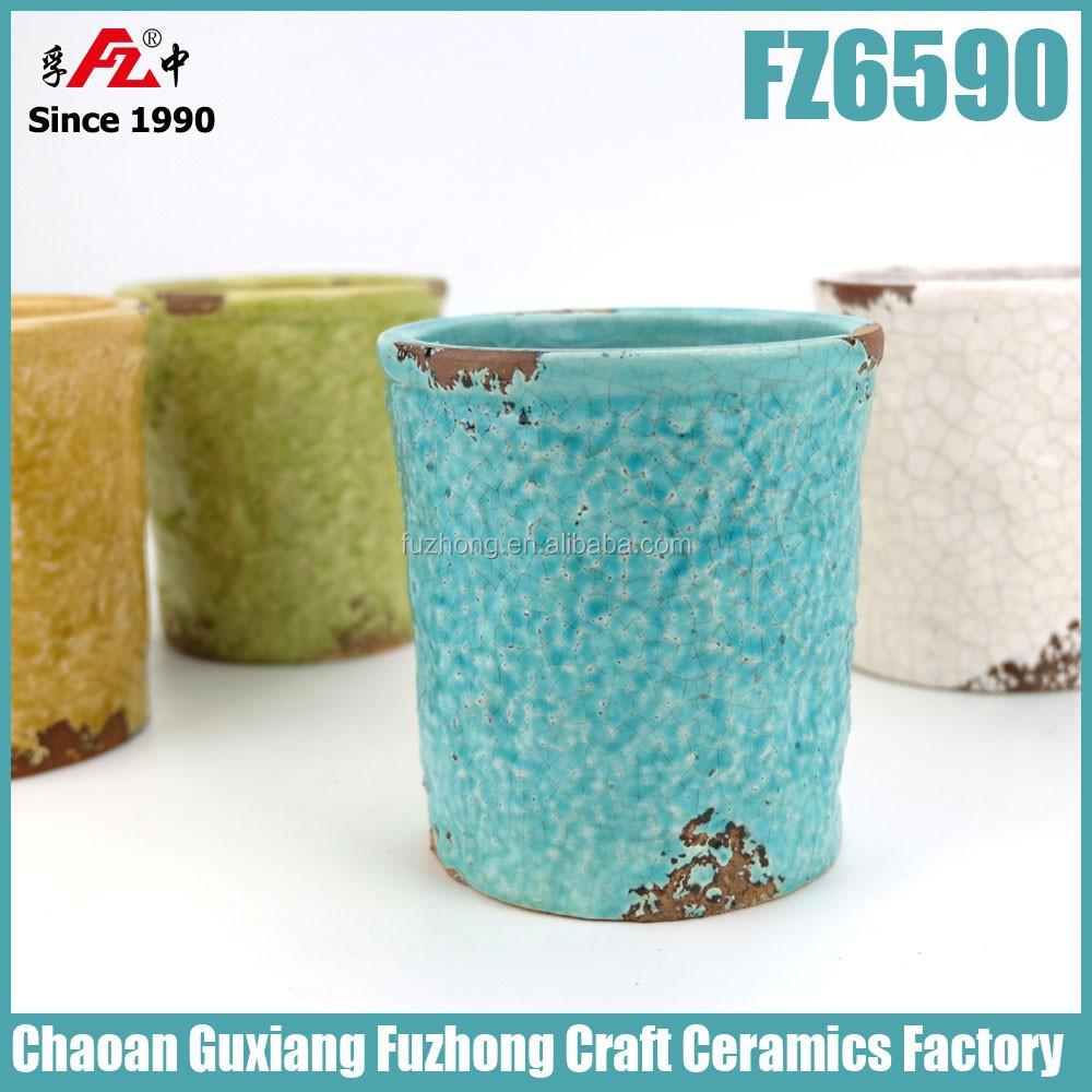 Glazed small ceramic flower pots buy flower pot ceramic for 6 ceramic flower pots