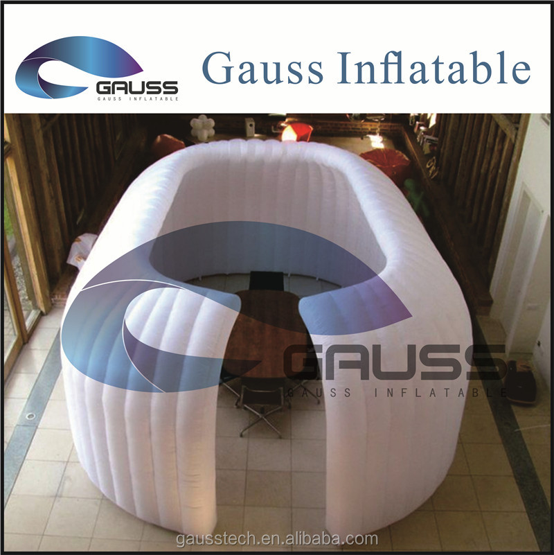 Inflatable small portable/decorative office