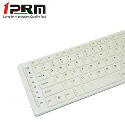 Creative design cool white color computer keyboard and mouse KM-806