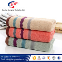 factory hot sale bamboo fiber face towel terry washcloth