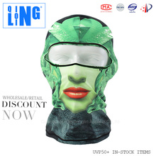 Full Face Custom Balaclava Bicycle Mask for Motorcycle or Bicycle or Fishing or Skiing Sports with Custom Animal Ski Mask