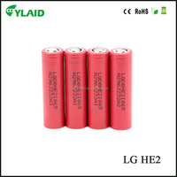 18650 lithium titanate battery LG HE2 2500mAh li ion rechargeable battery for electric toys