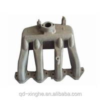 OEM made in china alibaba metalworking casting parts marine exhaust manifolds