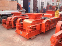 Double teeth roller crusher for coal