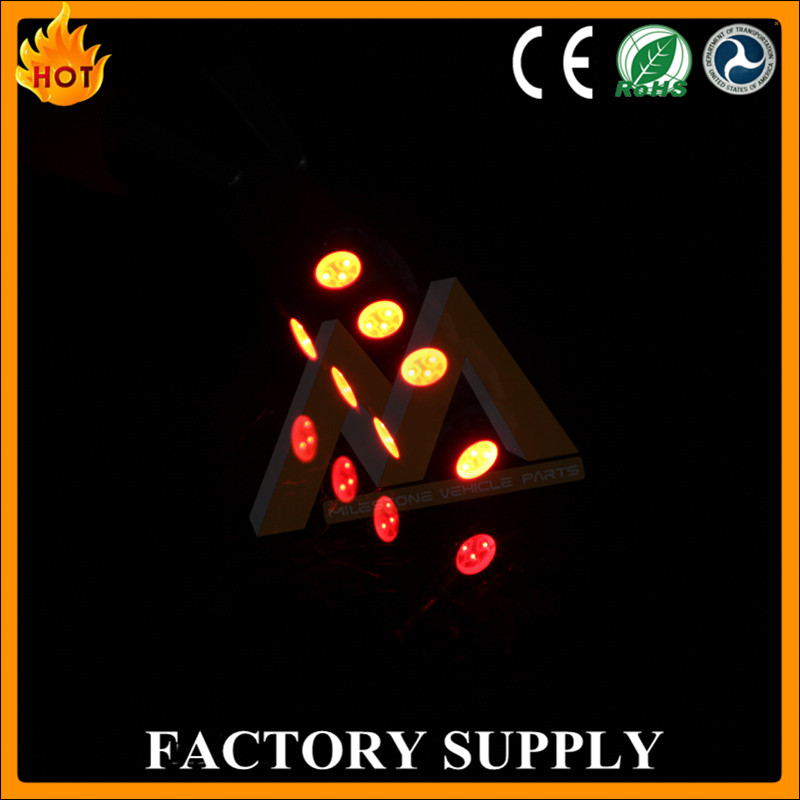 China Factory ice blue amber 5050 13 smd T10 LED