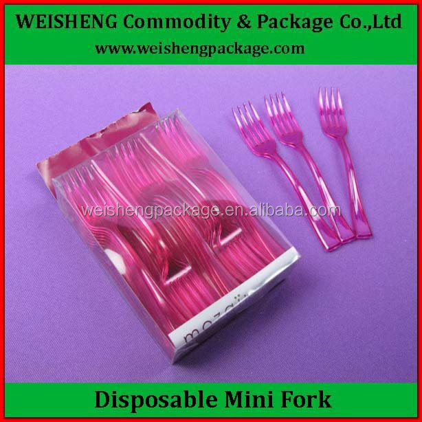 Decorative Household Daily Necessities Dessert Forks/Plastic Creative Fruit Fork