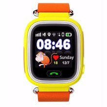 New model touch screen mobile gps kids smart watch phone q90 kids gps tracker