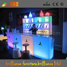 LED bar counter/lighting disco bar desk/even rental furniture