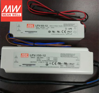 60W 100w 12V 5A Meanwell LED Driver LPV-60-12 Waterproof IP67 Rate Mean Well LED Driver