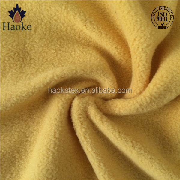thick polar fleece fabric / jogging fleece fabrics / baby safe fabrics fleece
