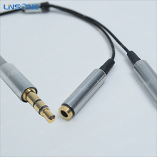 Colorful High Grade 1 to 3 audio splitter cable car audio cable for DVD players, laptops