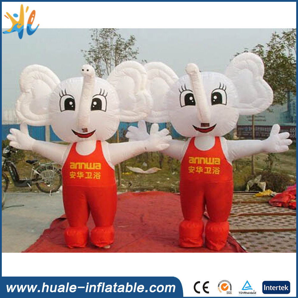 2016 customized giant inflatable costume, inflatable elephant for sale