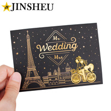 Personalize name date unique metal bicycle bookmark wedding souvenirs