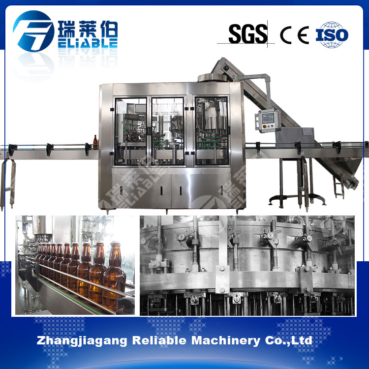 Automatic Liquor Packing Machine for Sparkling Drink Filling Machine