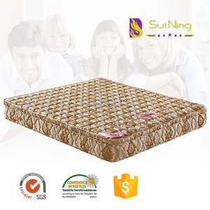 Home furniture price of coir mattress from china manufacturer
