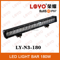 26 inch offroad led bar light 180w factory wholesale led light bar
