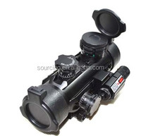 1x30E Red dot Green Dot Sight Scope with 3 side 20mm rail red dot for hunting with red laser