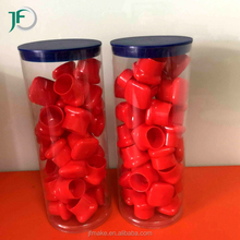 Clear Plastic Cylinder Tube for Gifts Packing