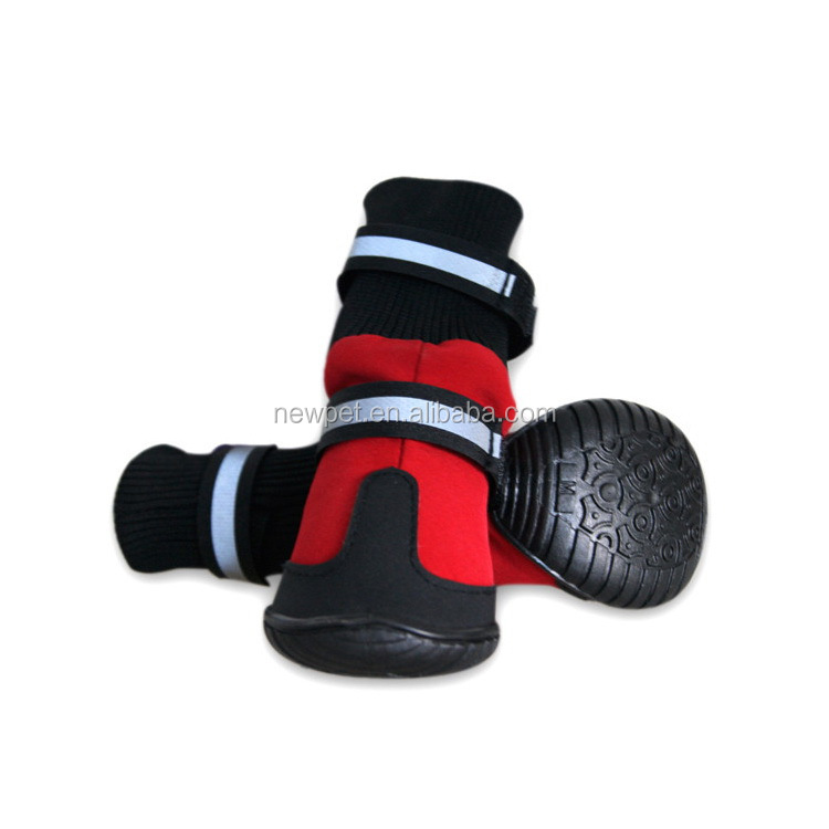 Service supremacy attractive fashion waterproof antiskid shoes oem pet shoes