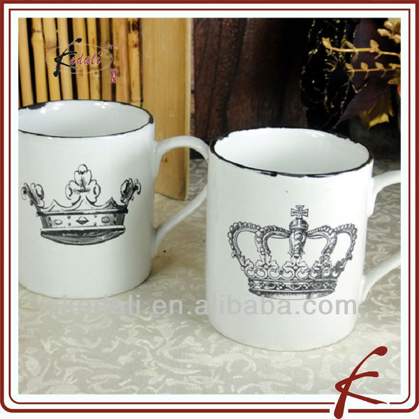 China Factory Cheap Ceramic Porcelain Coffee Cup Mug Dinnerware